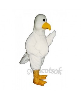 Cute Sammy Seagull Mascot Costume