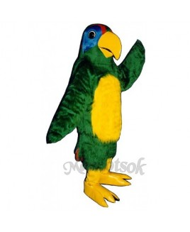 Cute Polly Parrot Mascot Costume