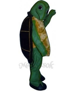 Toby Turtle Mascot Costume