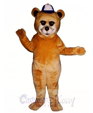 New Sunny Bear with Hat Mascot Costume