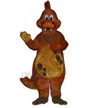 Victor Von Puff Mascot Costume