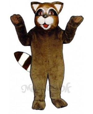 Roxie Raccoon Mascot Costume