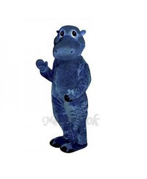 Baby Hippo Mascot Costume
