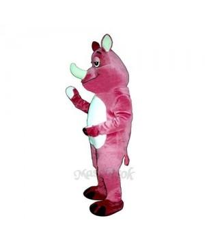 Rhoda Rhino Mascot Costume