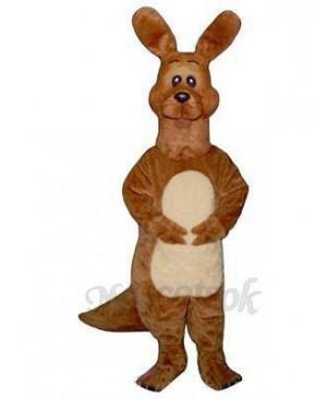 Dopey Kangaroo Mascot Costume
