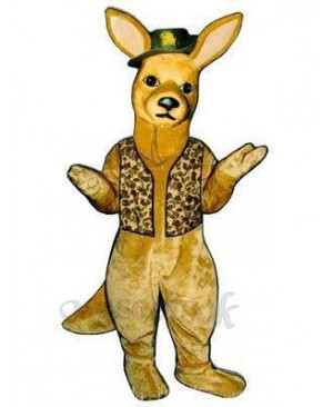 Down Under Kangaroo Mascot Costume