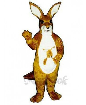 Kangaroo with Joey Mascot Costume