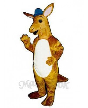 Sydney Kangaroo with Hat Mascot Costume