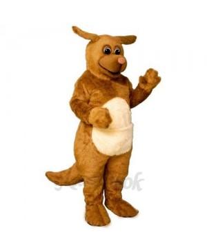 Rhudy Roo Dog Mascot Costume