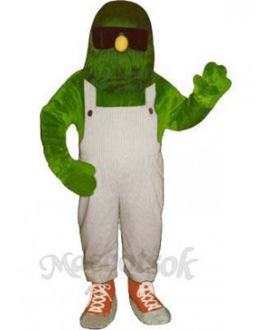Green Scene Mascot Costume