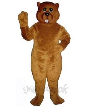Marsha Marmot Groundhog Mascot Costume