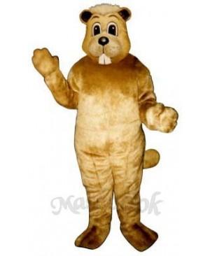Willy Beaver Mascot Costume