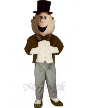 Dudley Dude Mascot Costume