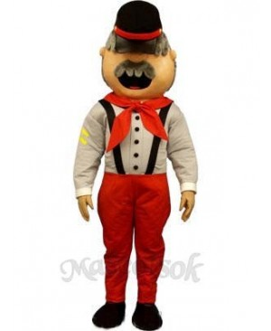 Robbie Reb Mascot Costume