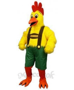 Cute Chicken Yodel Mascot Costume
