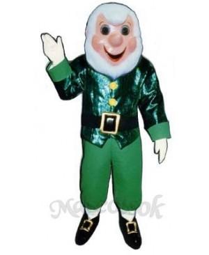 Grandpa Elf Christmas Mascot Costume