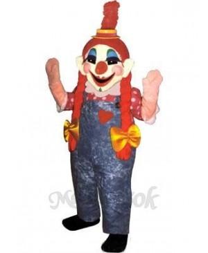 Clara Clown Mascot Costume