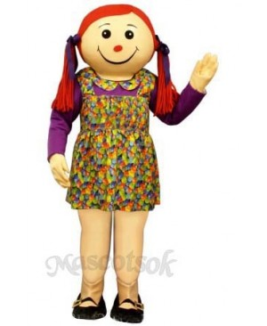 Molly Dolly Mascot Costume