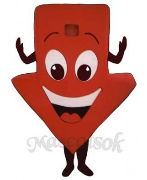 Red Arrow Mascot Costume
