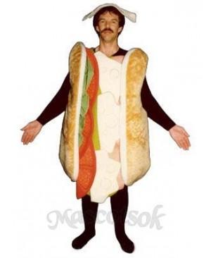 Sub Sandwich Mascot Costume