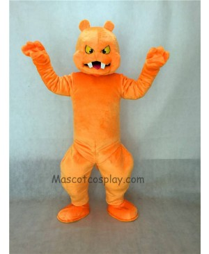 High Quality Orange Slimy Monster Mascot Costume