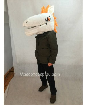 High Quality Mustang Horse Denver Broncos Mascot Costume Head Only