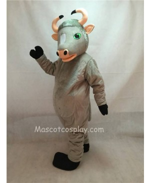 High Quality Adult Friendly Grey Buffalo Mascot Costume