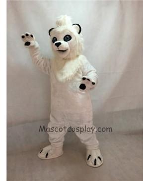High Quality White Lion Mascot Costume