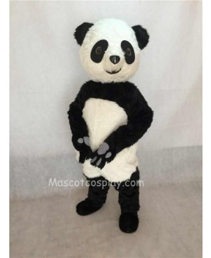High Quality Plush Panda Adult Mascot Funny Costume Type D