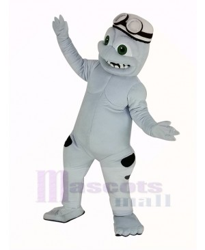 Crazy Frog Mascot Costume