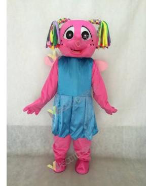 Little Plum Sesame Street Mascot Costume