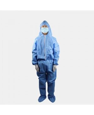 In Stock Protective Clothing Non-Woven Dustproof Overalls3