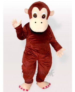 Lovely Chimpanzee Gorilla Adult Mascot Costume