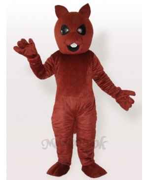 Squirrel Bear Brown Adult Mascot Costume