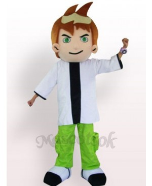 Cool Boy Plush Adult Mascot Costume