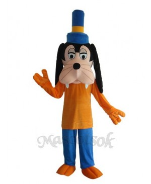 T-shirt Goofy Dog Mascot Adult Costume