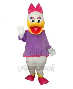 2nd Version Purple Daisy Duck Mascot Costume