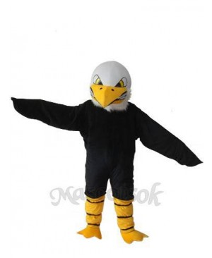 White Head Bald Eagle Mascot Adult Costume
