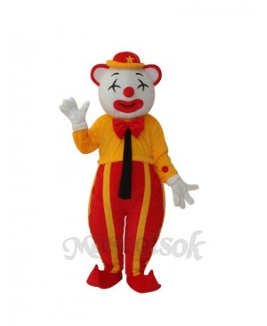 The American Clown Mascot Adult Costume