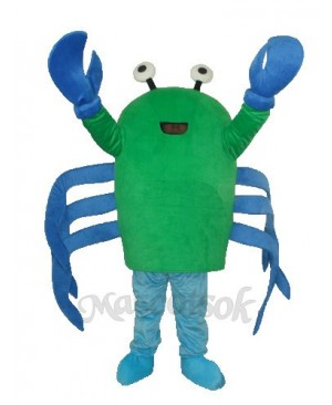 Green Crab Mascot Adult Costume
