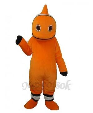 Orange Little Clownfish Mascot Adult Costume