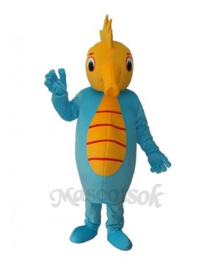 Hippocampus Mascot Adult Costume