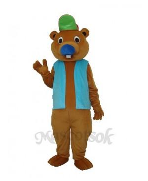 Beaver 2 Mascot Adult Costume