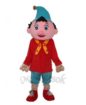 3nd Version Pinocchio Mascot Adult Costume