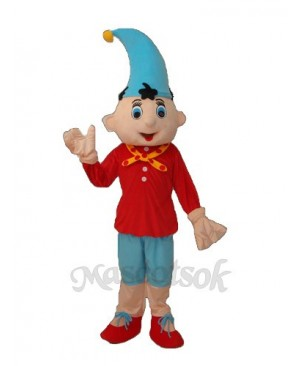 2nd Version Pinocchio Mascot Adult Costume