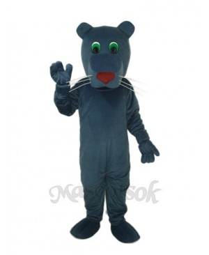 Black Mouth Dog Mascot Adult Costume