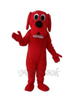 Red Potter Dog Mascot Adult Costume