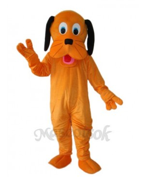 Orange Dog Mascot Adult Costume