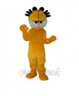 Old Version Garfield Mascot Adult Costume