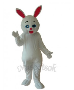 Easter Rabbit Mascot Adult Costume